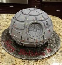 Star Wars Death Star Cake - CakeCentral.com