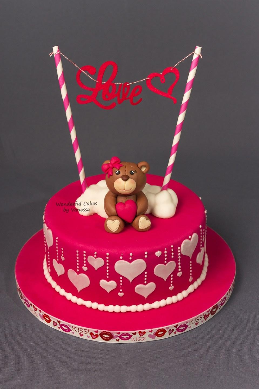 Ein weiteres Bild von valentine day cake designs Valentine Day Cake Designs