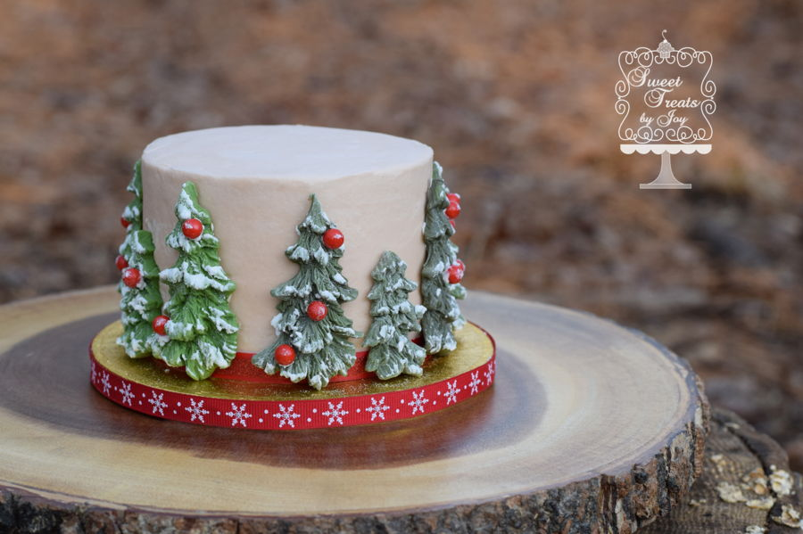 Sheet Cake Ideas Christmas Decorating