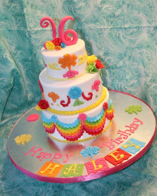 Mexican Fiesta Sweet Sixteen