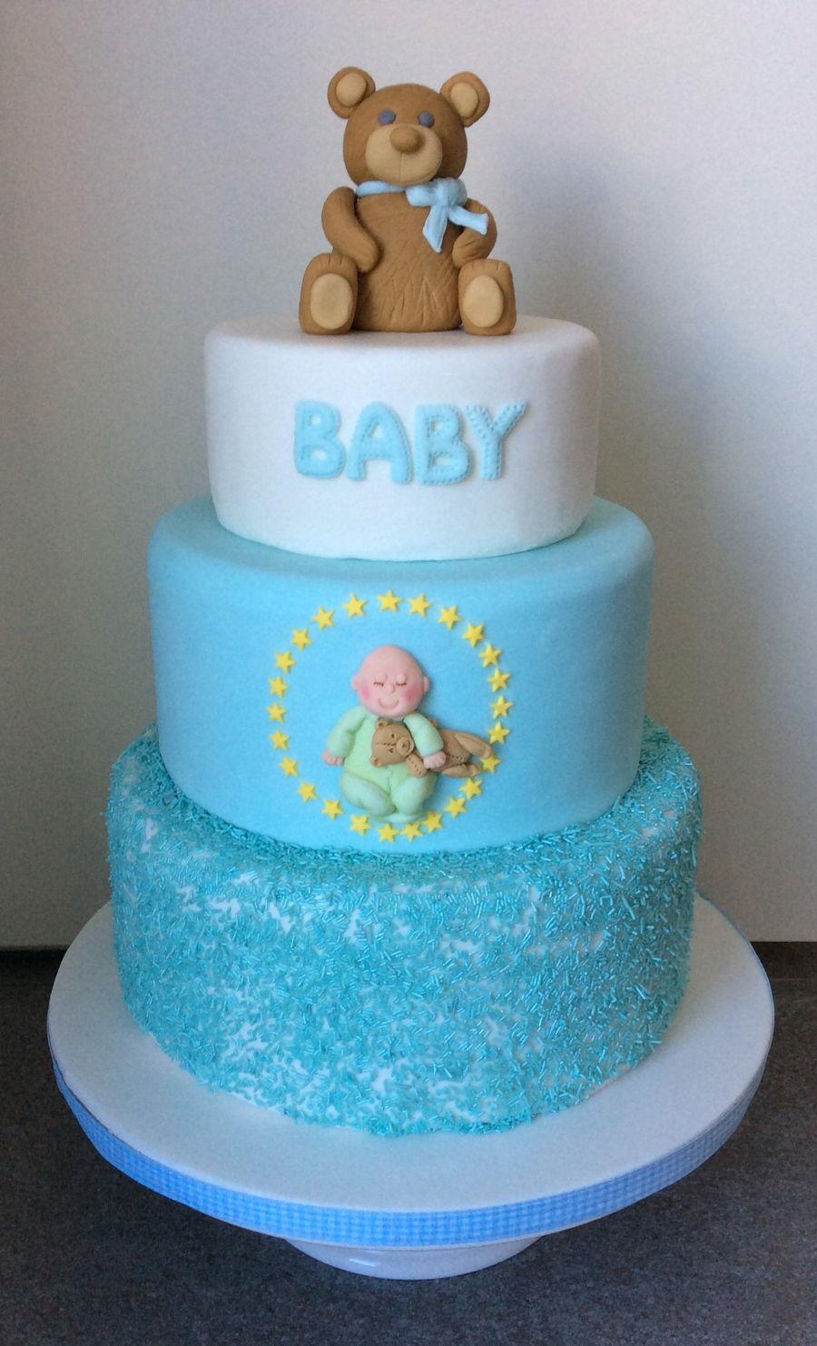 New Baby Boy Cake Cakecentral Com