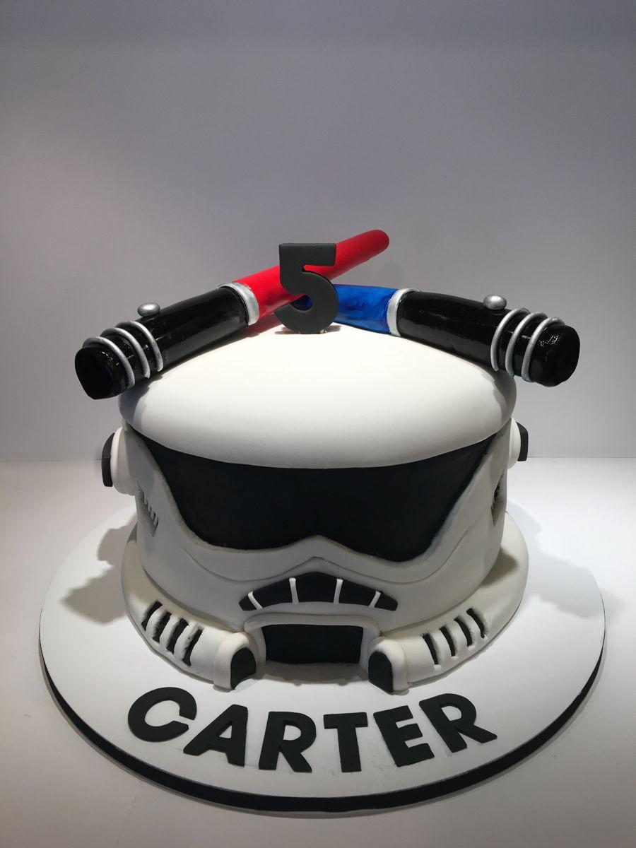 Storm Trooper Cake Cakecentral Com