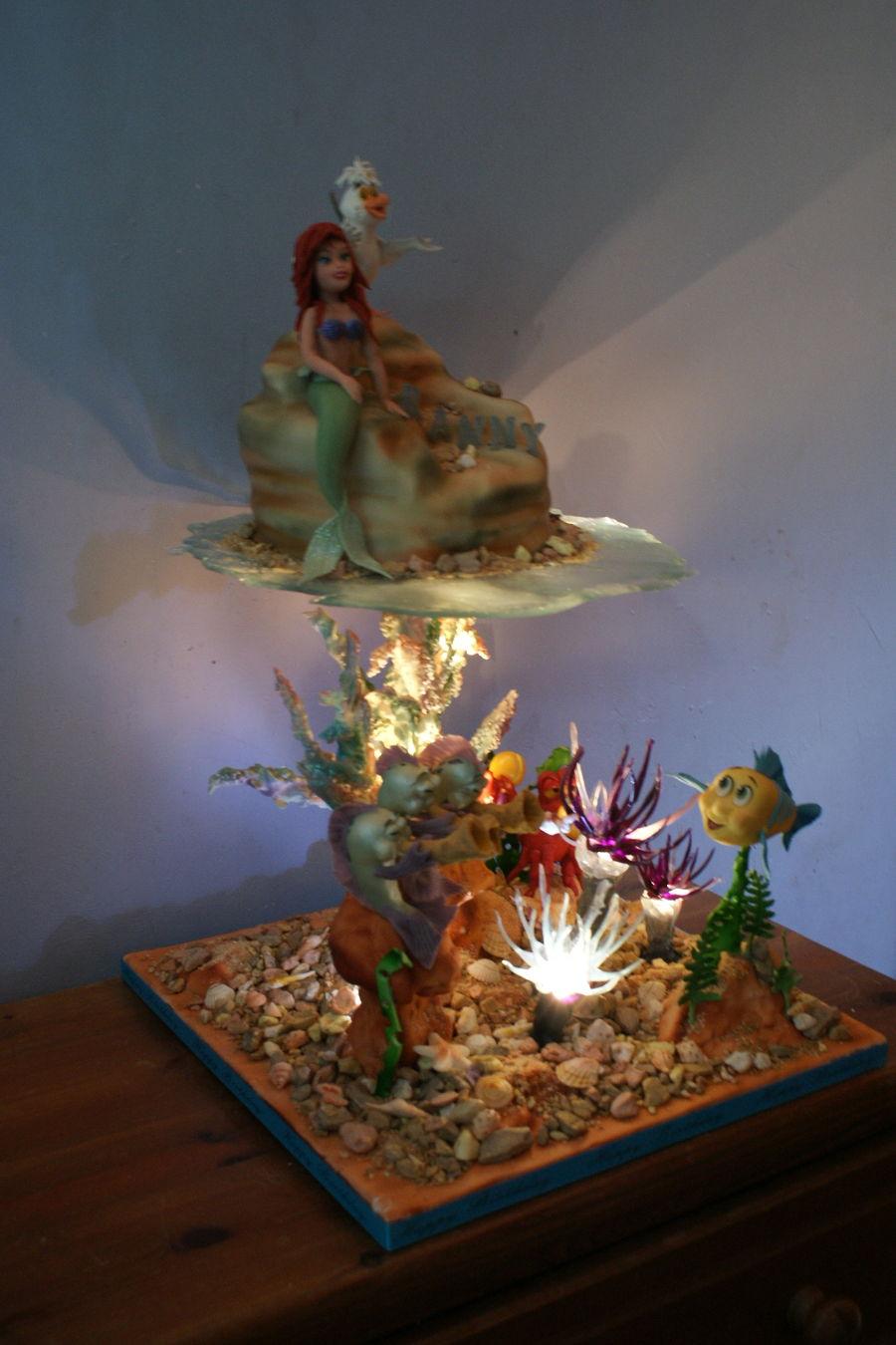 Under The Sea Little Mermaid  CakeCentralcom