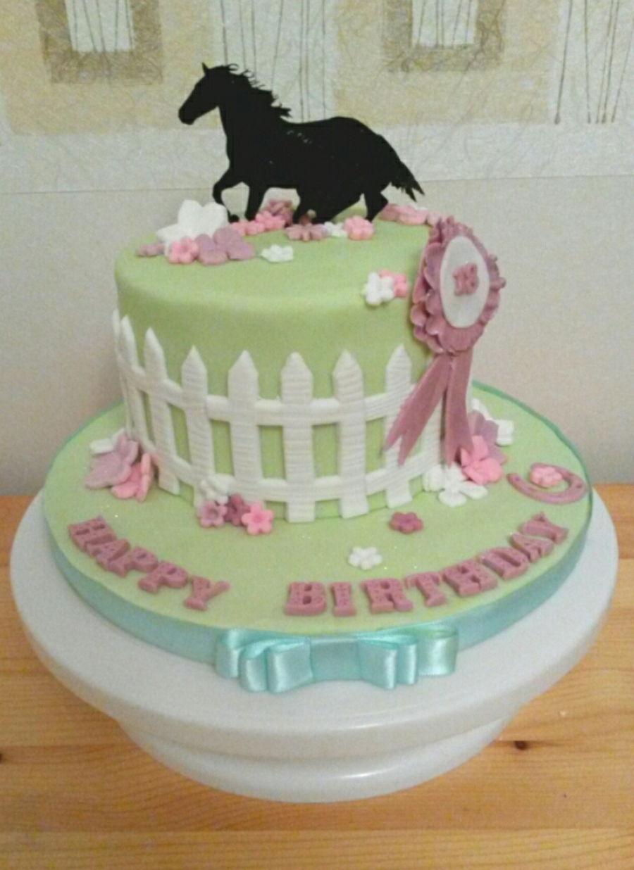 Horse Theme Cakecentral Com