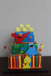 Sesame Street Baby Shower - CakeCentral.com