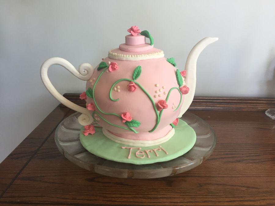 Teapot Cake Cakecentral Com