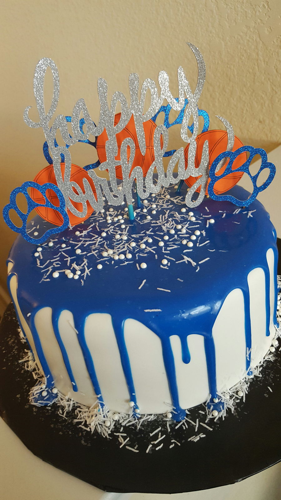 Kentucky Drip Cake Cakecentral Com
