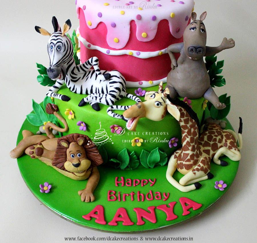 Madagascar Cake Cakecentral Com