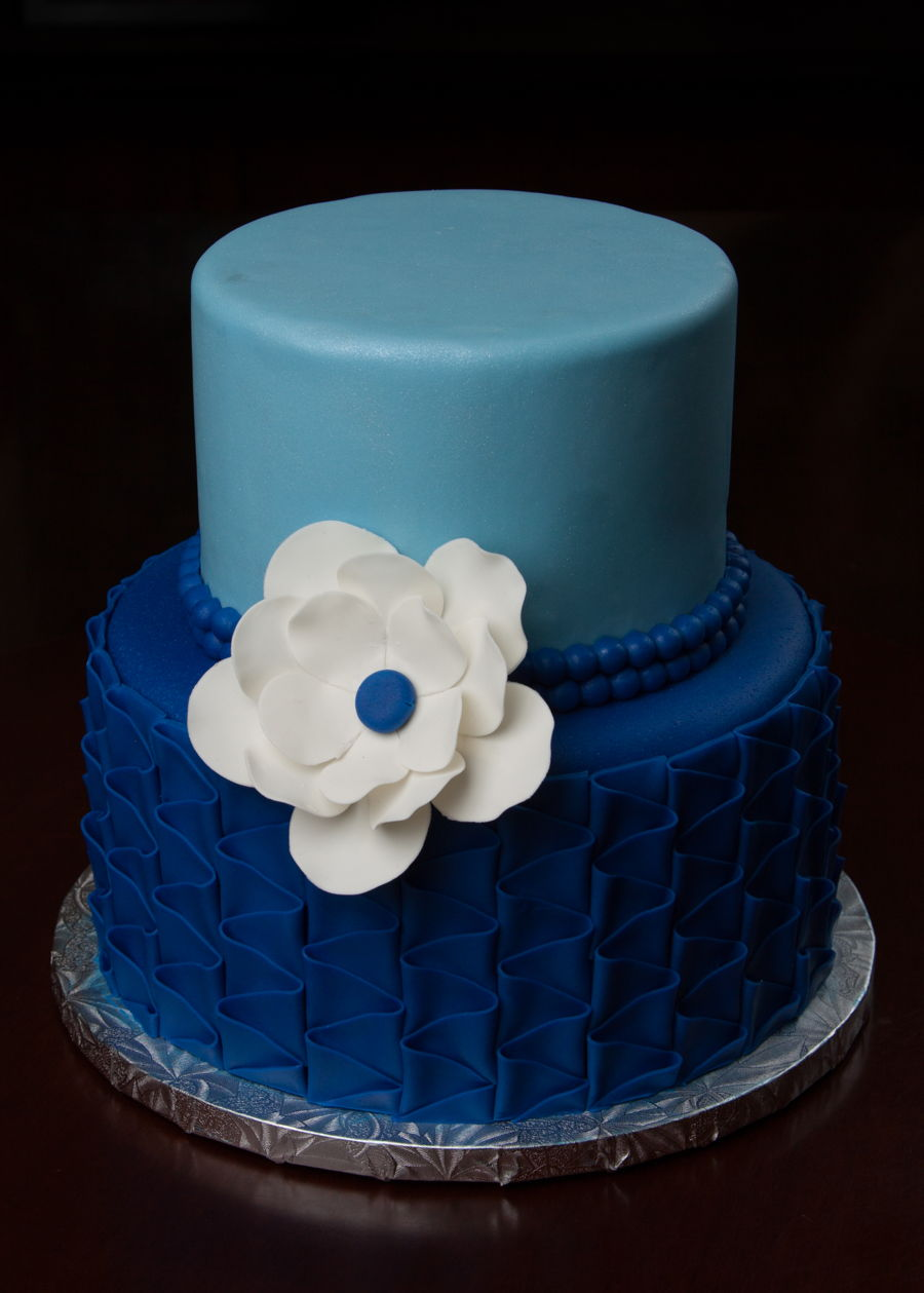 Small Wedding Cake  CakeCentralcom