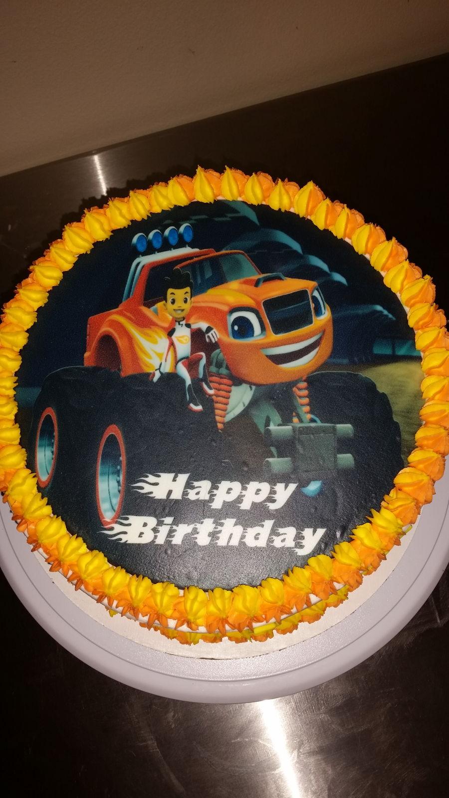 Blaze Cake  CakeCentralcom