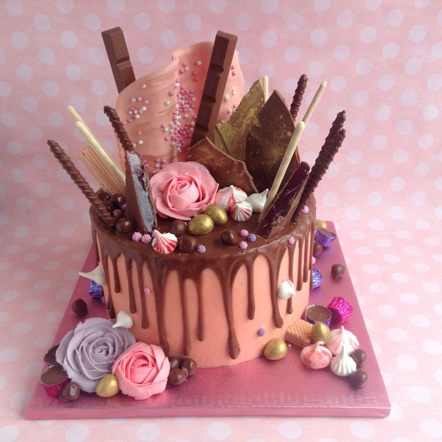 Chocolate Drippy Cake  CakeCentralcom
