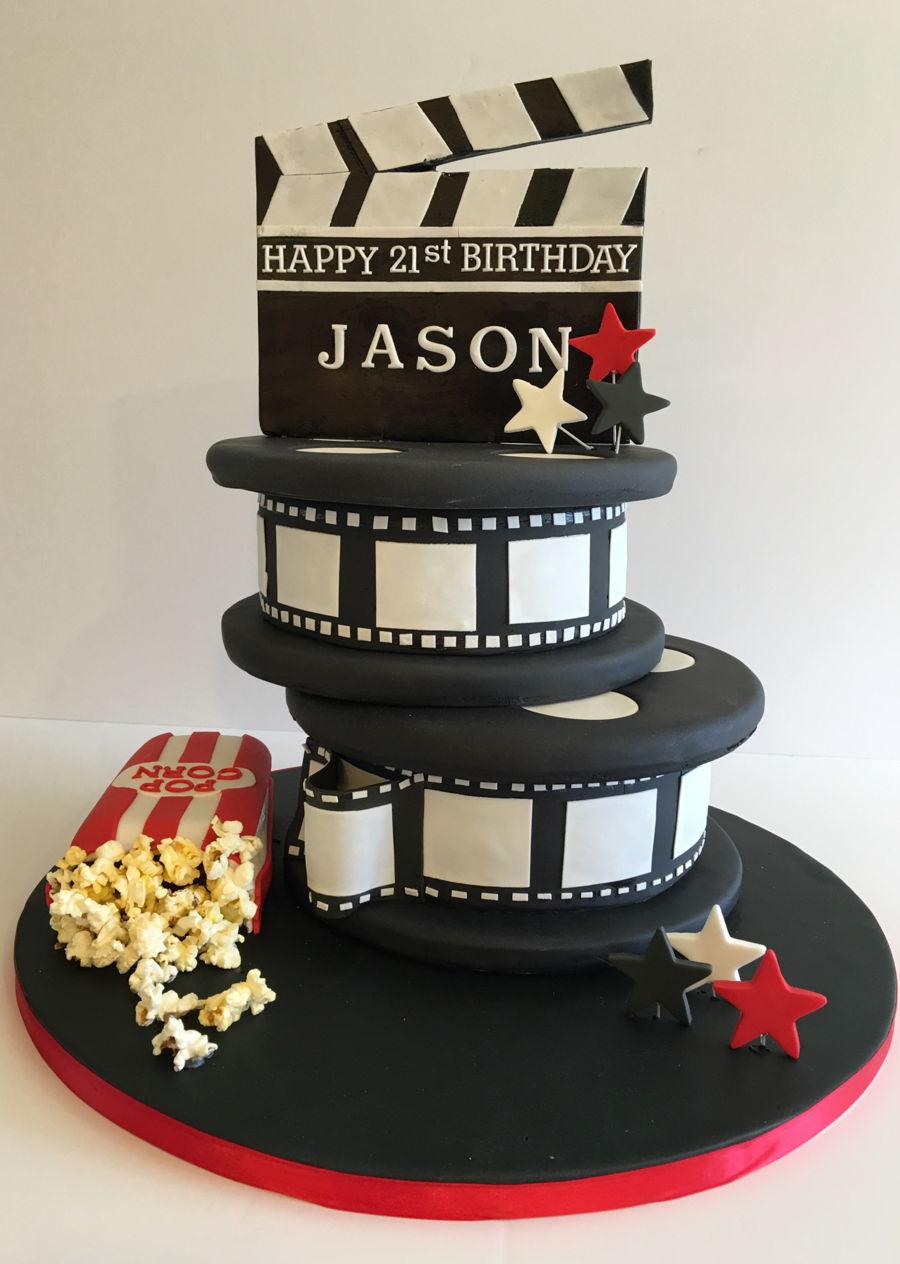 Film Movie 21st Birthday Cake Cakecentral Com