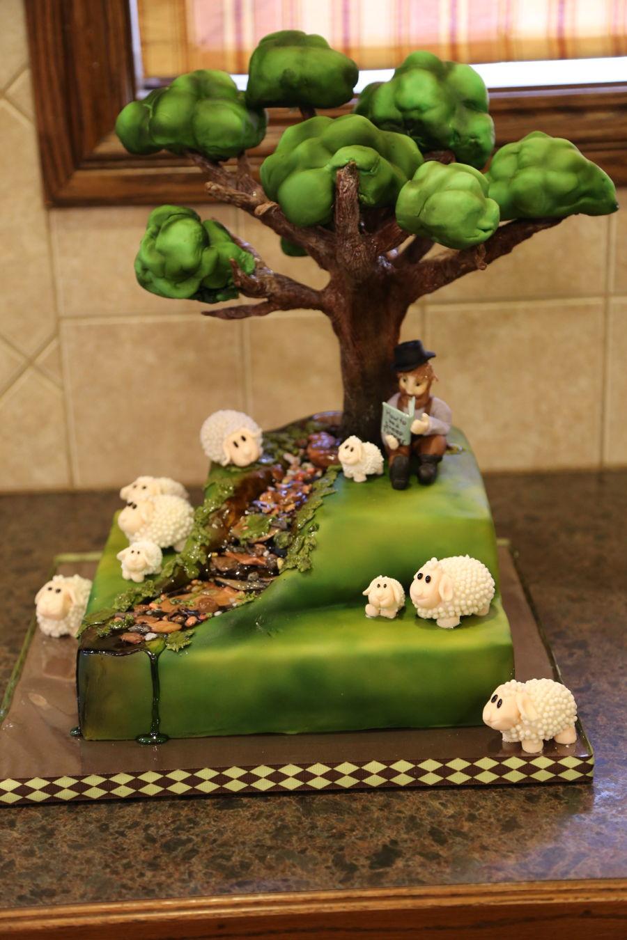 Tree Cake Sheep Farmer Cakecentral Com