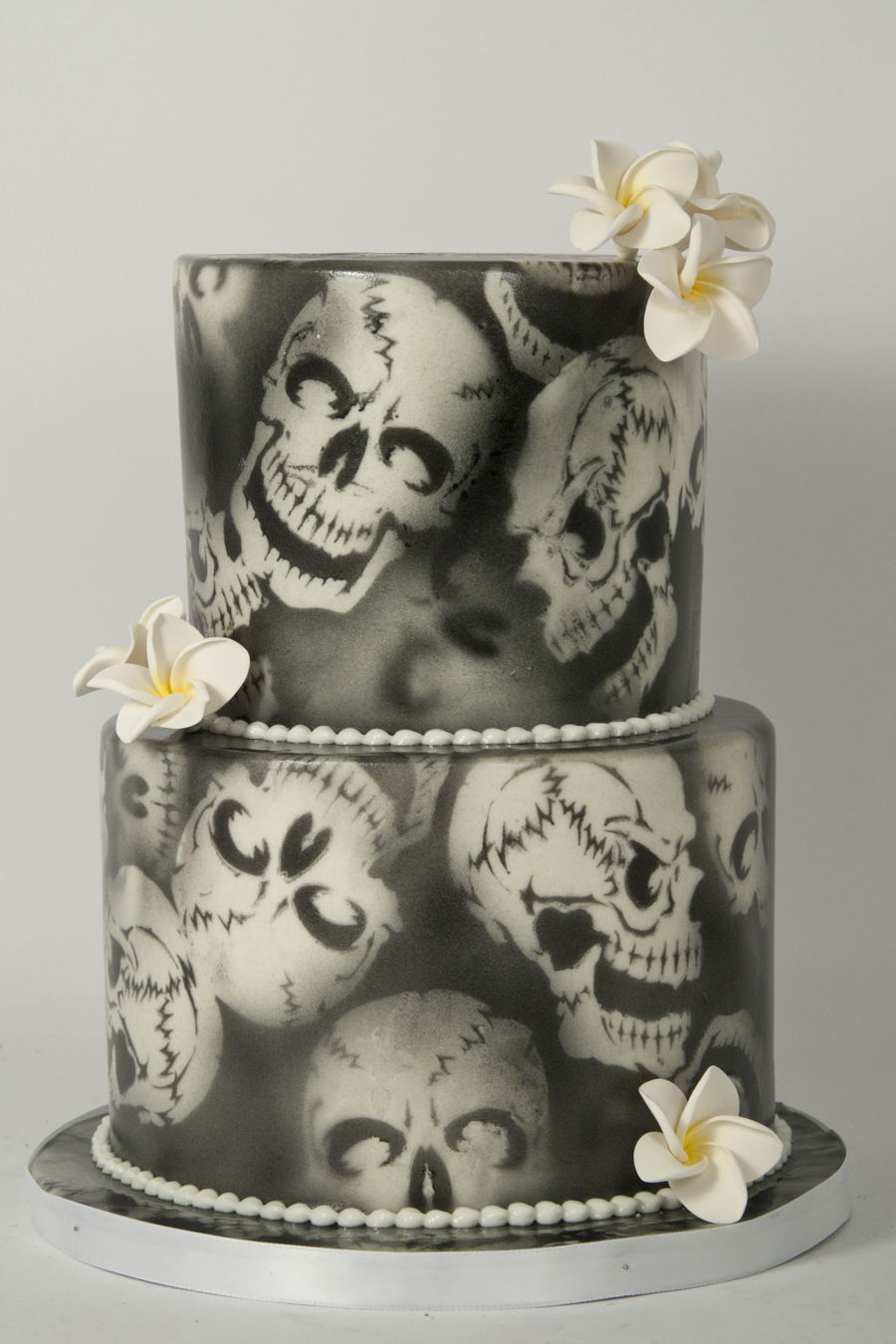 Air Brushed Skulls  CakeCentralcom