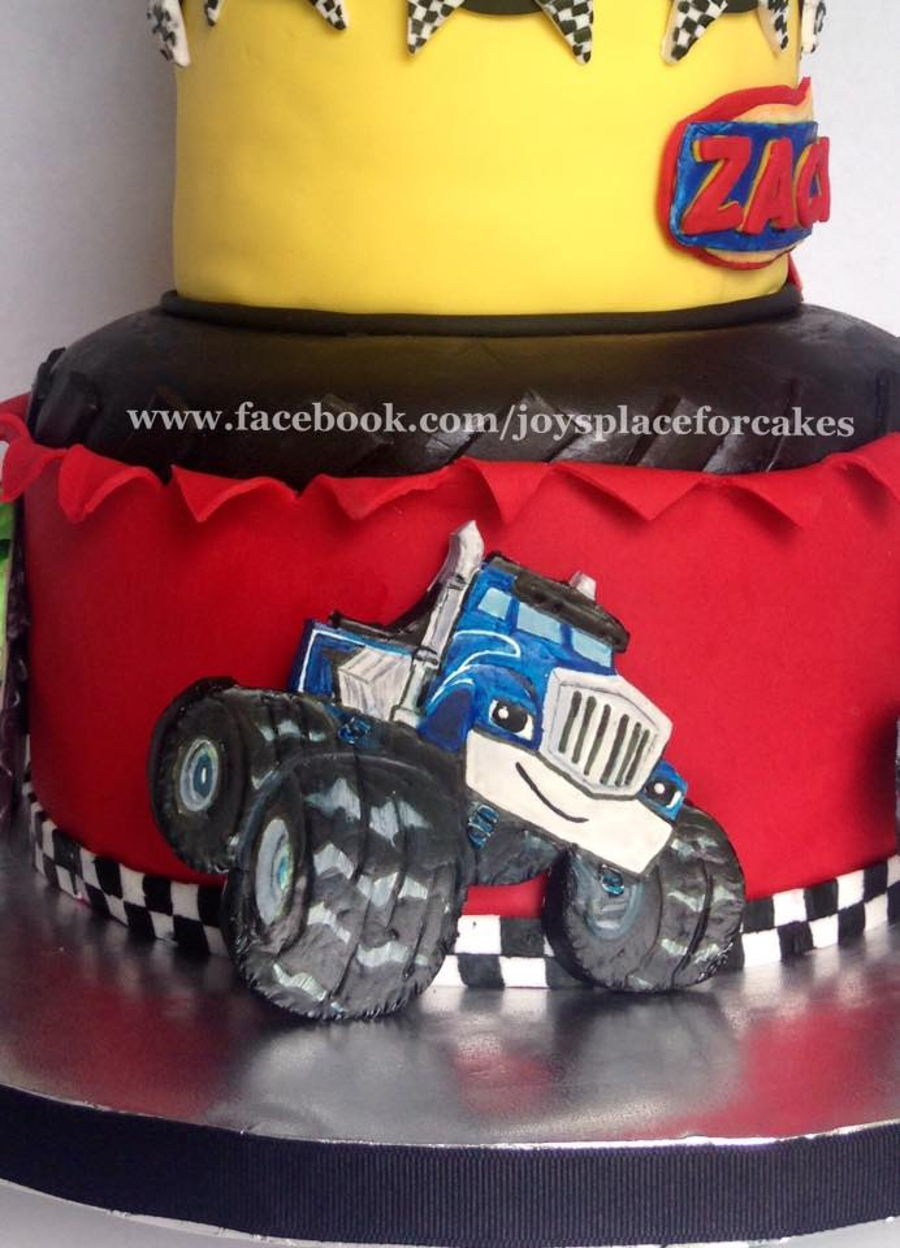 Blaze And The Monster Machines  CakeCentralcom
