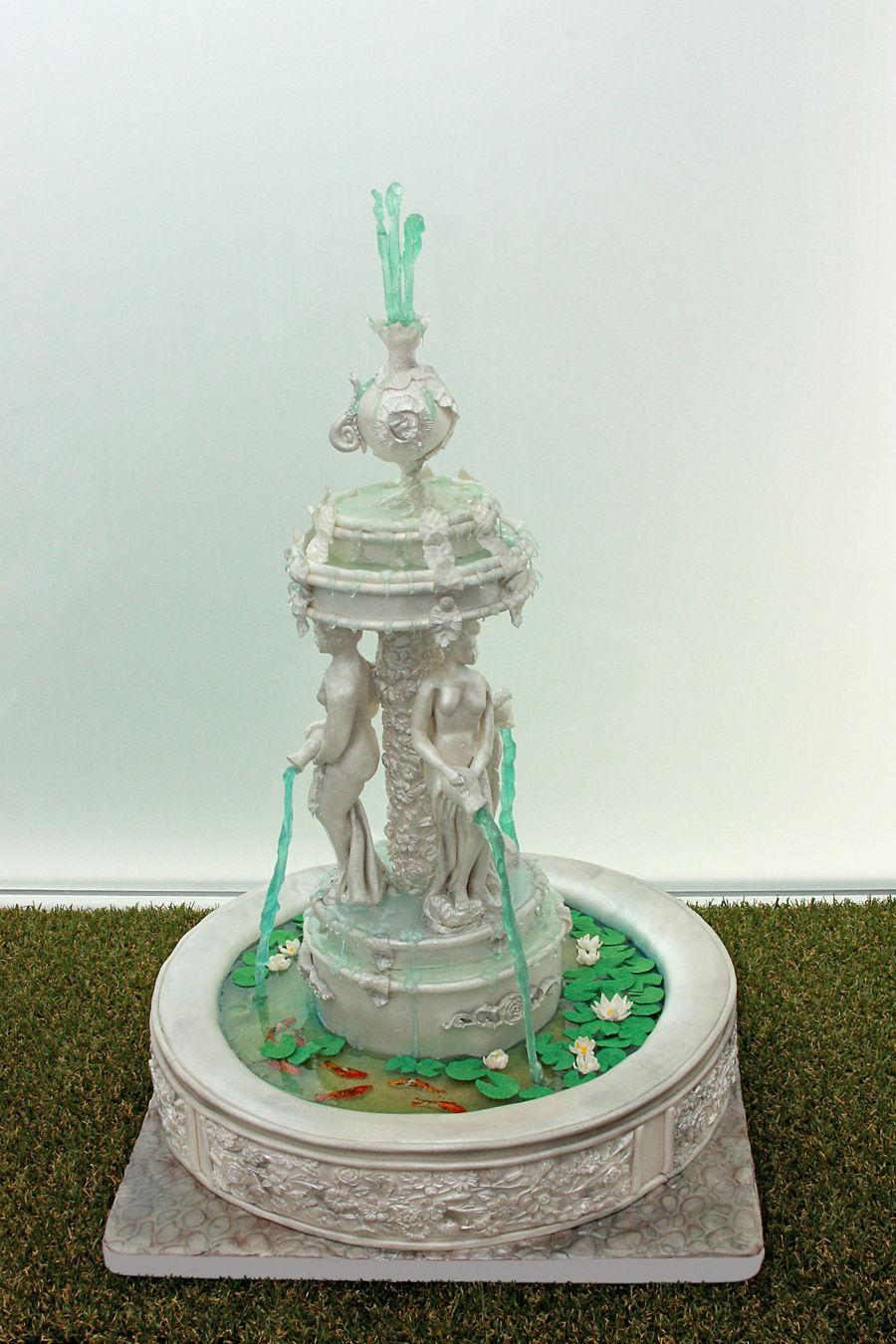 Fountain Cake  CakeCentralcom