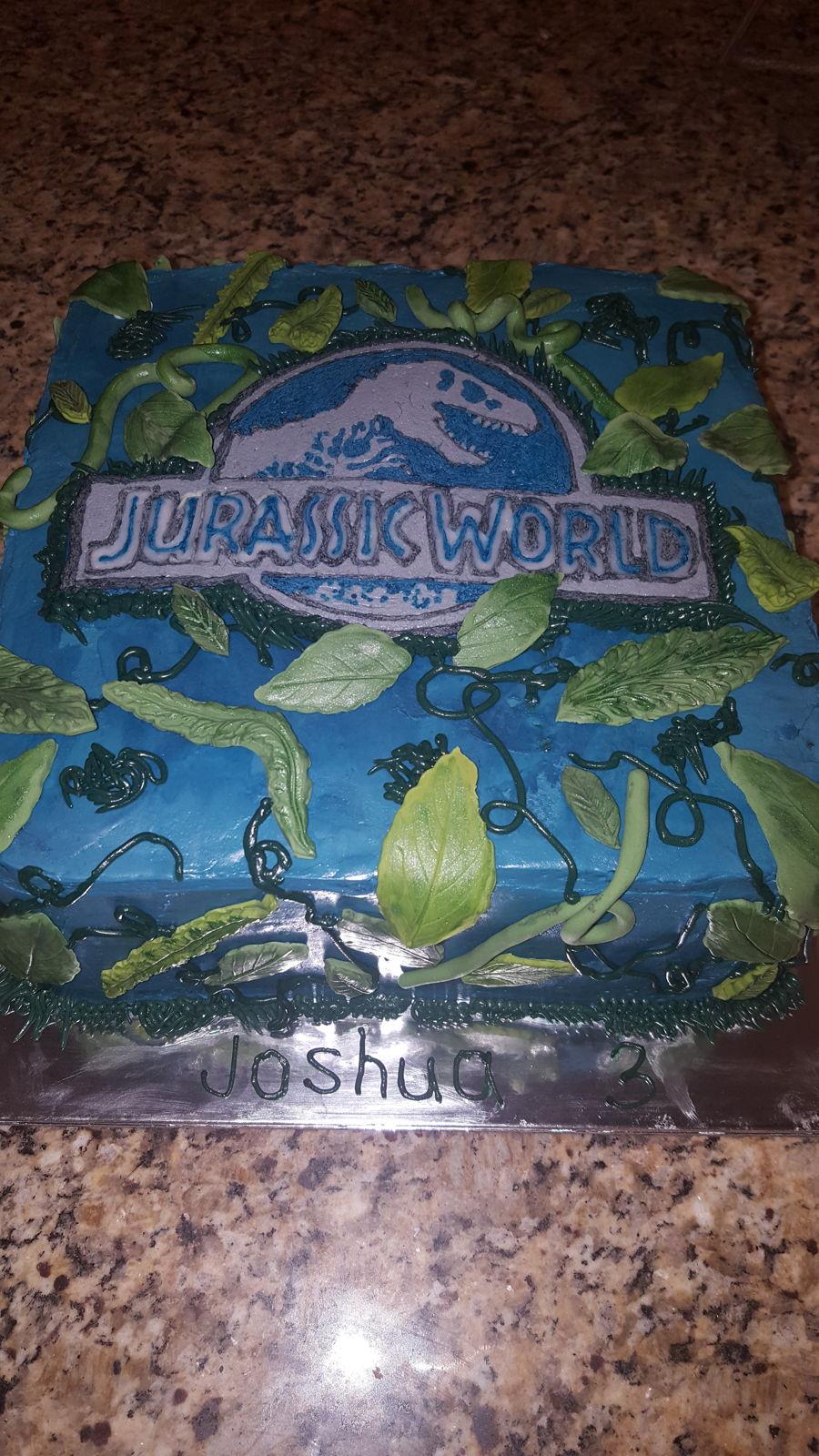 Jurassic World Cake Cakecentral Com
