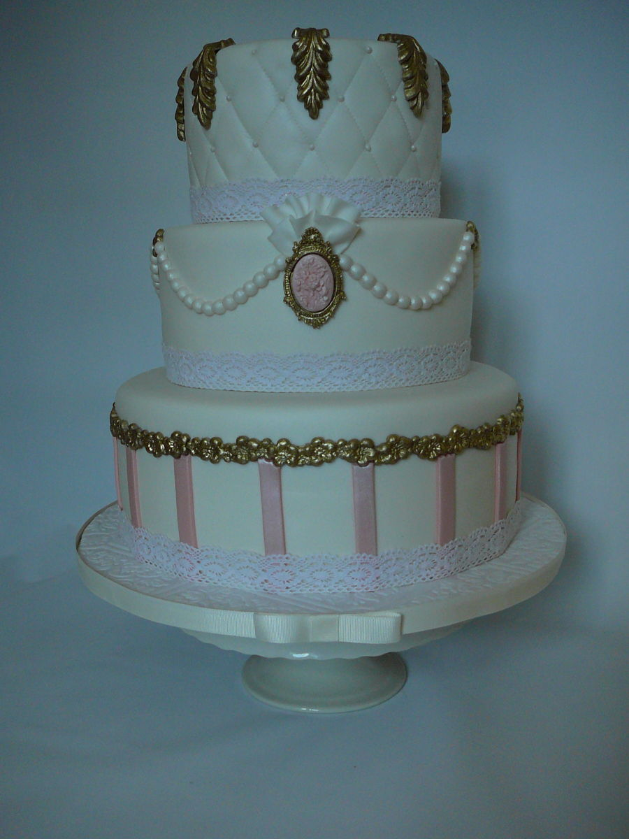 Marie Antoinette Wedding Cake Cakecentral Com