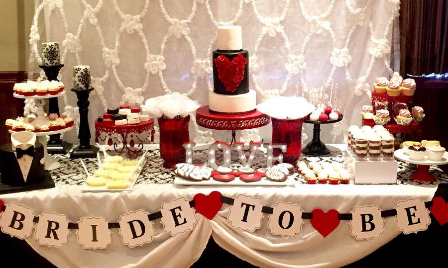 Bridal Shower Sweet Table  CakeCentralcom