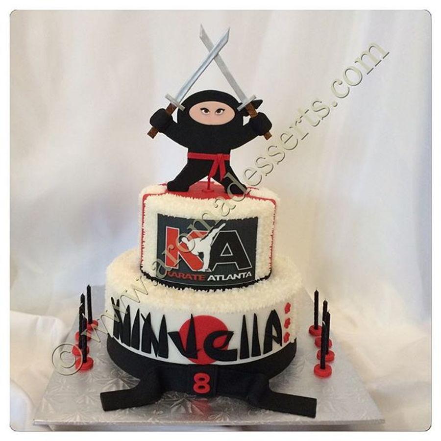 Ninja Girl Cake Cakecentral Com