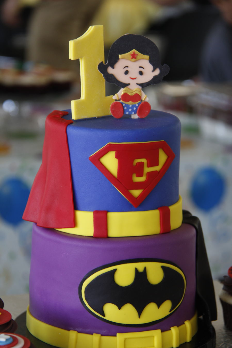 Superheroes  CakeCentralcom