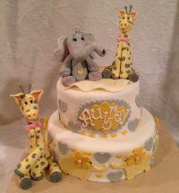 Giraffe Baby Shower Cake, Giraffe Cake, Elefant Cake ...
