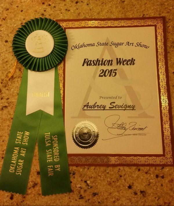 Oklahoma Sugar Art Show 2015 - Fashion Week