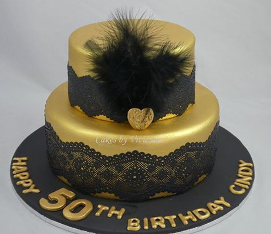 Great Gatsby 50Th Birthday Cake