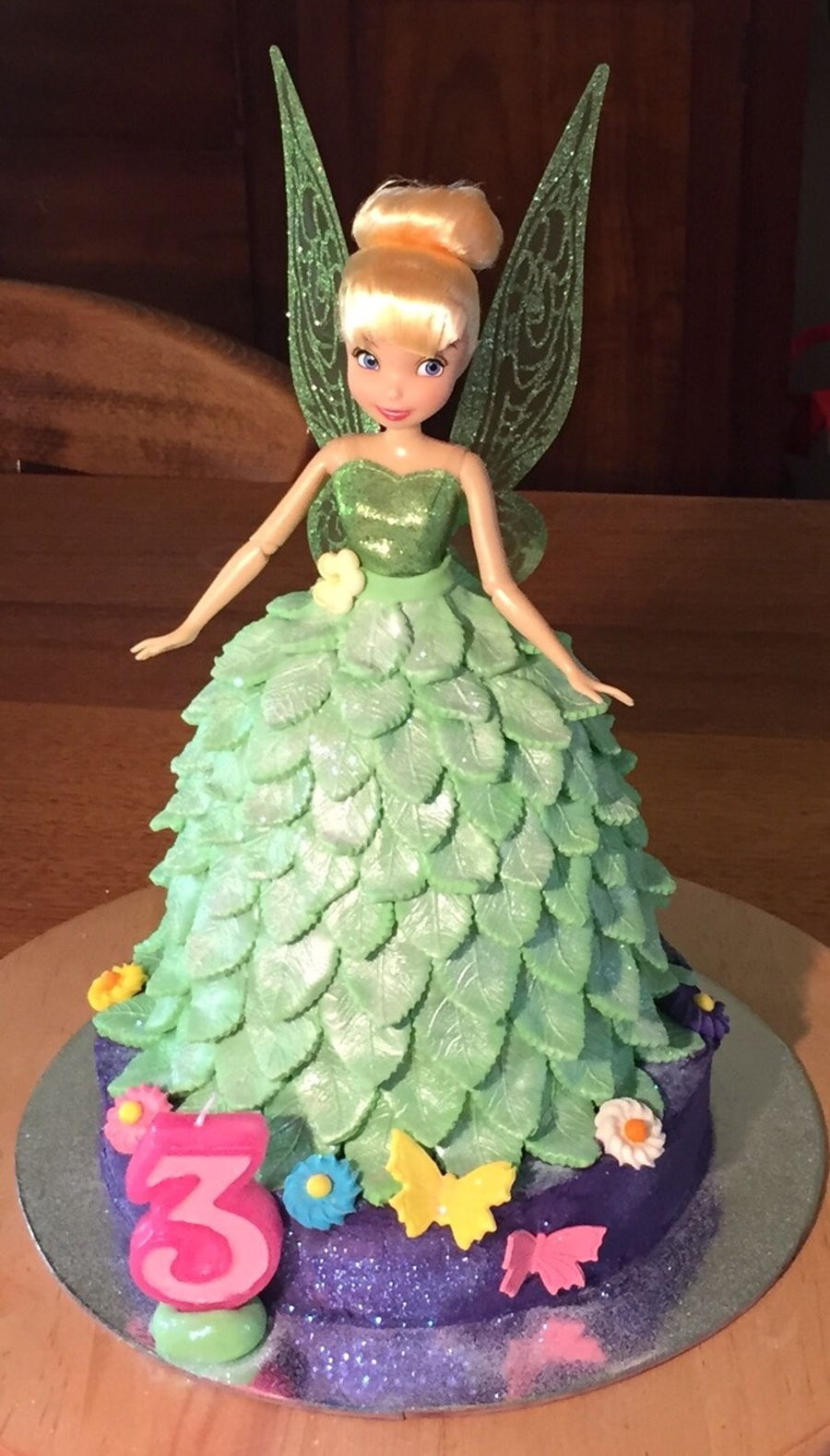 Tinker Belle Birthday Cake For 3 Year Old Cakecentral Com