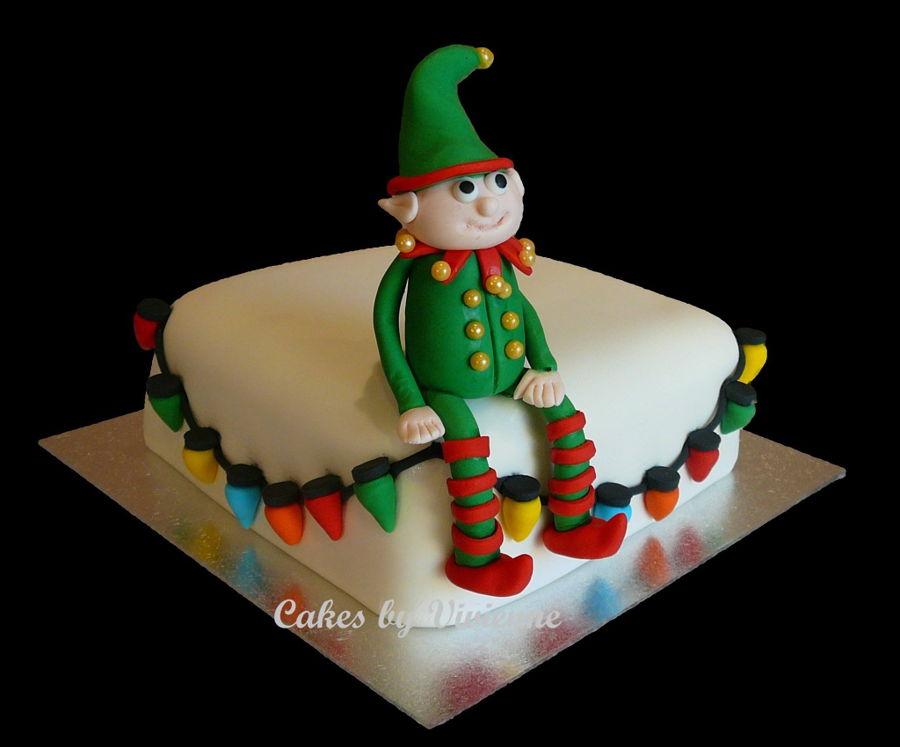 Christmas Elf Cake Cakecentral Com
