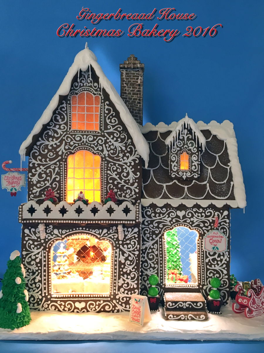 Gingerbread House Christmas Bakery