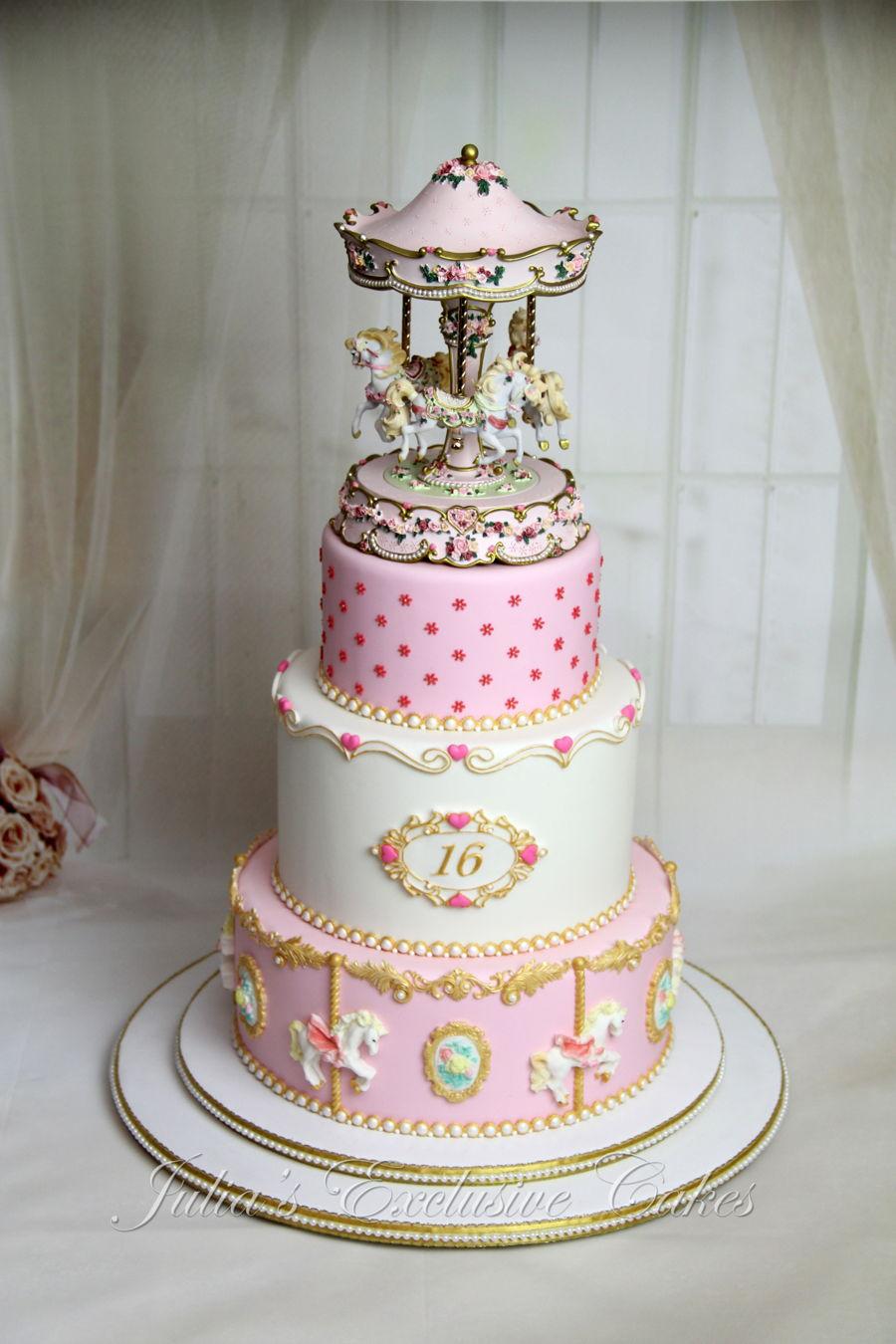 Carousel Music Box Cake Cakecentral Com