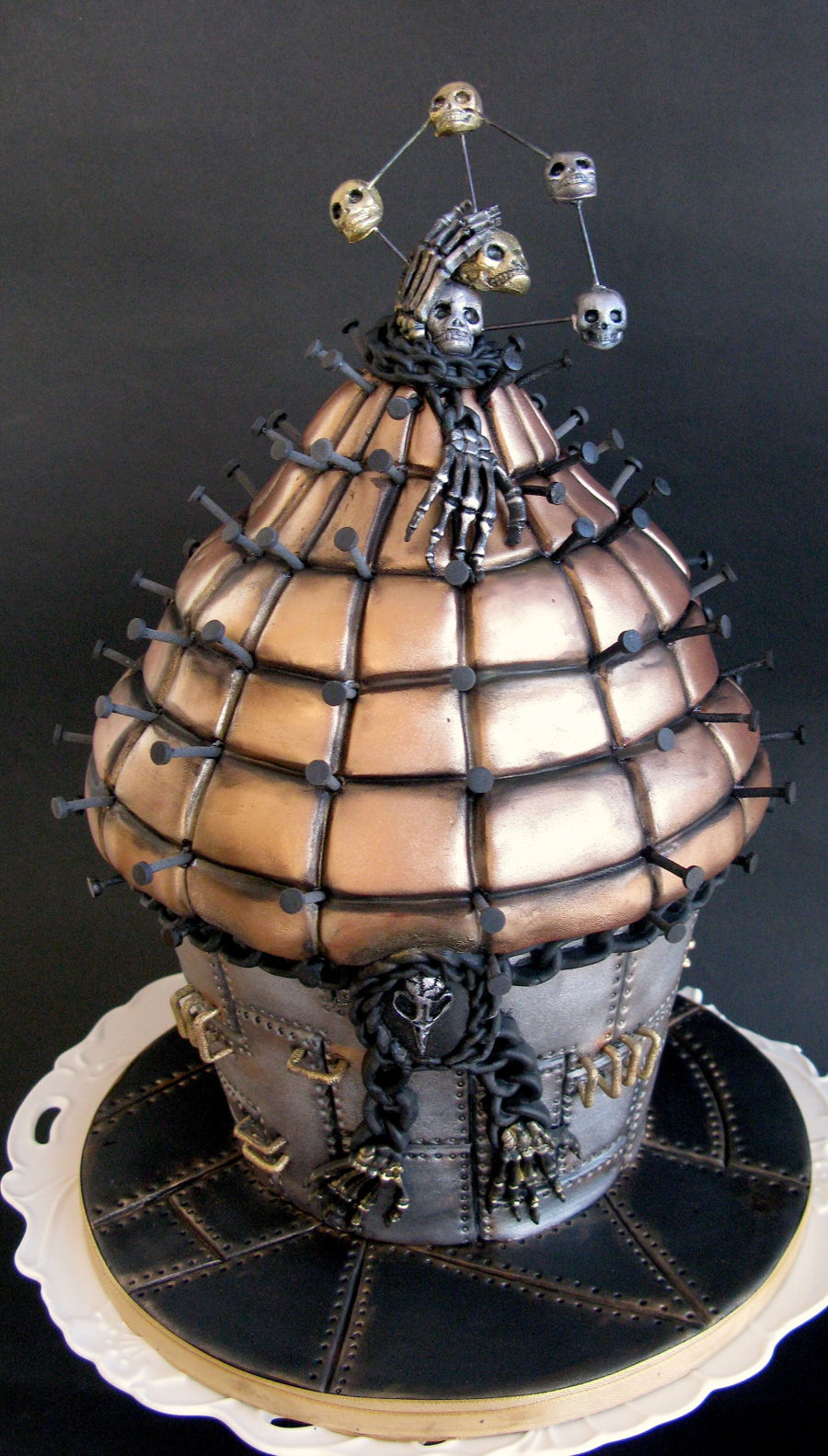 Giant Pinhead Muffin Cake Cakecentral Com