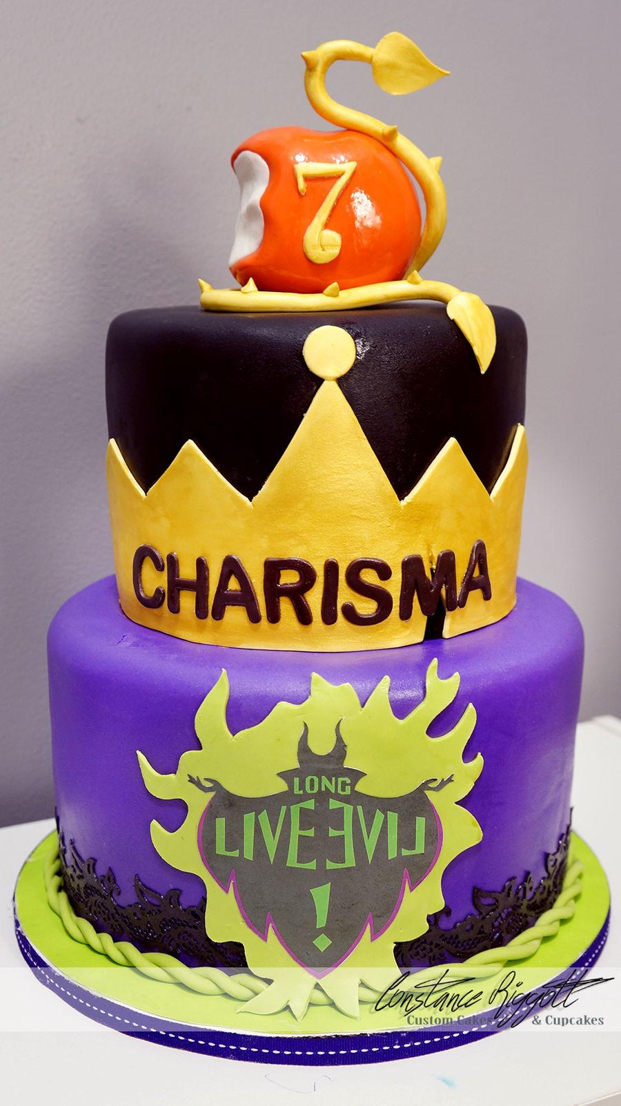 Descendants Cake Cakecentral Com