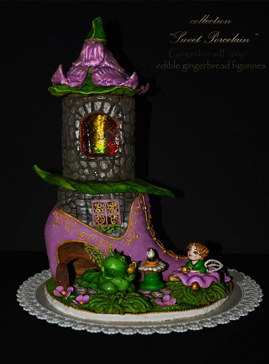 Gingerbread Fairy House  CakeCentralcom