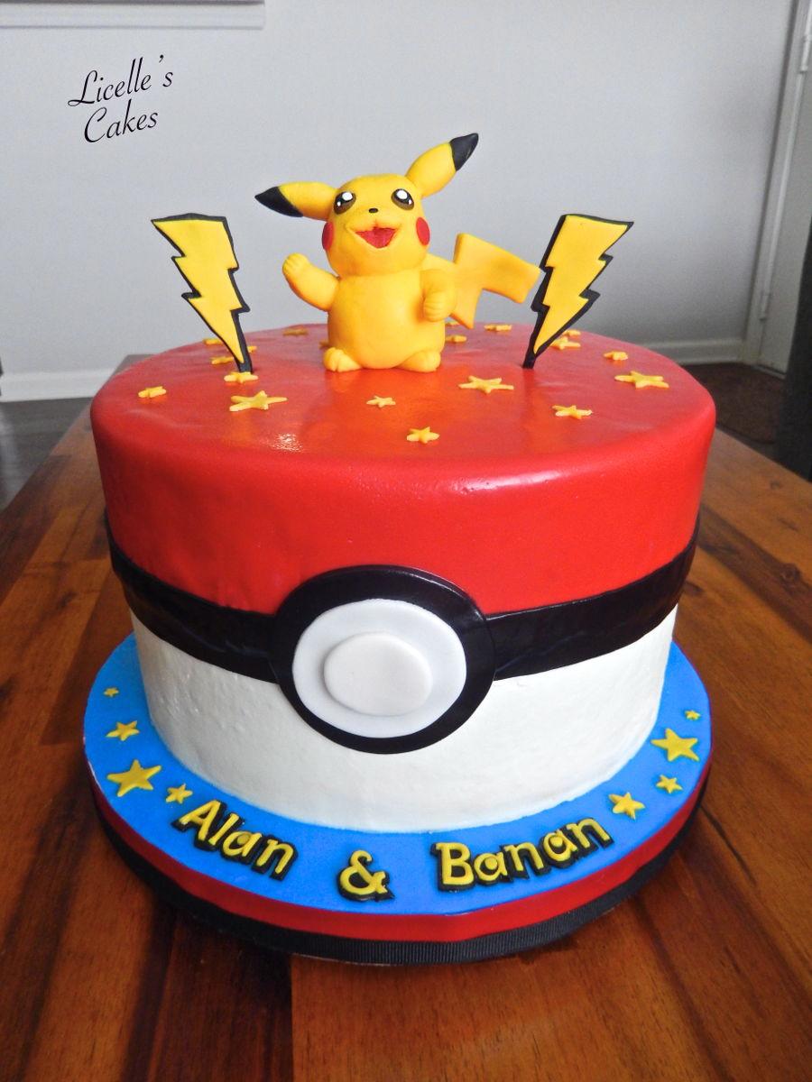 Pokemon Pikachu Cake Cakecentral Com