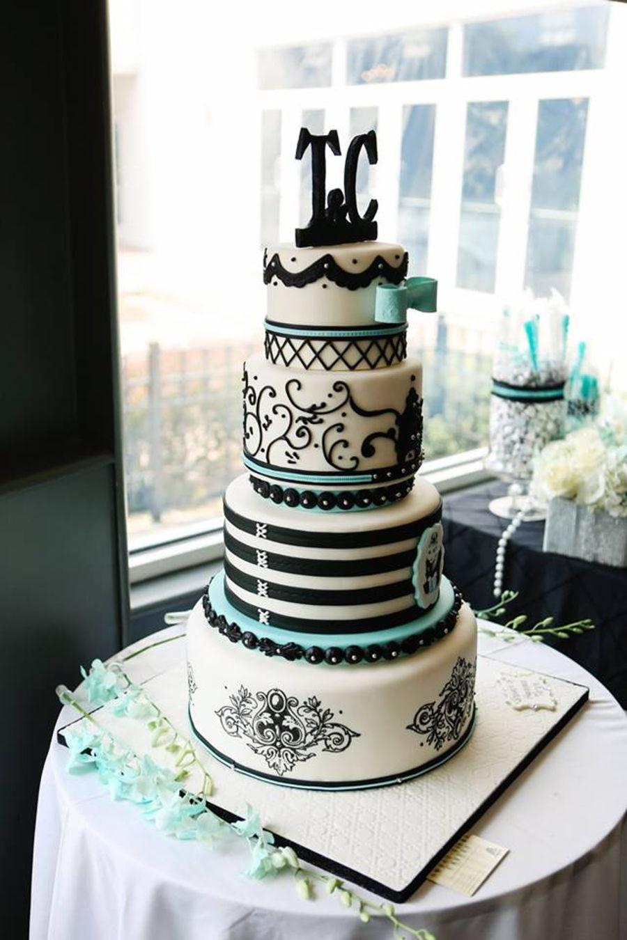 Tiffany Themed Cake  CakeCentralcom