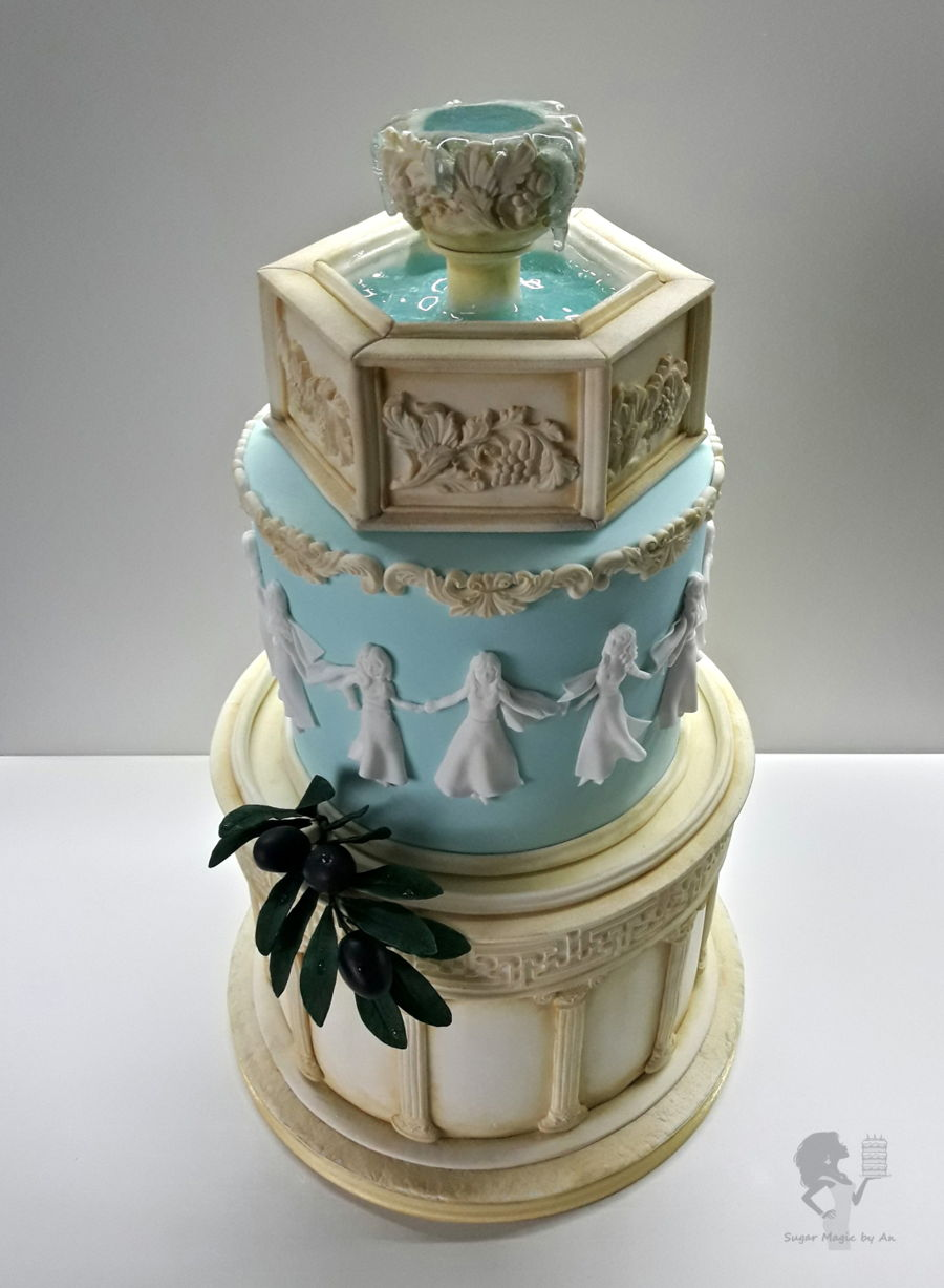 Greek Cake Designs Related Keywords Greek Cake Designs