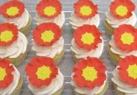 Jeweled Poppy Cupcakes - CakeCentral.com
