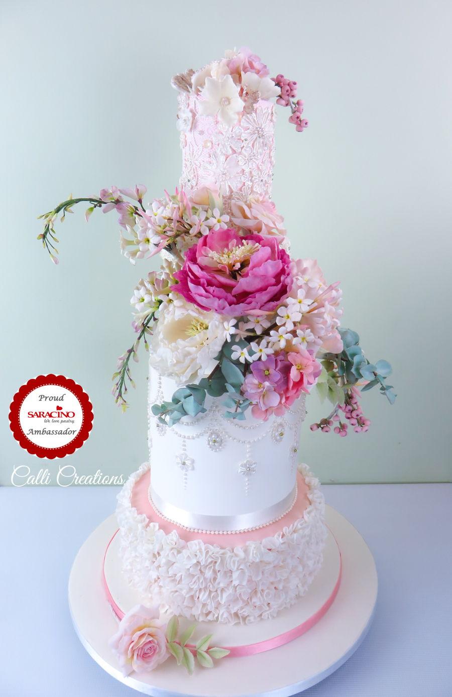 Spring Wedding Cake Cakecentral Com