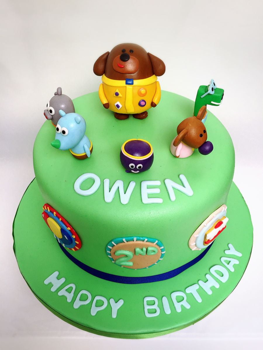 Hey Duggee Birthday Cake Cakecentral Com