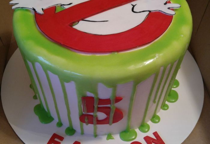 Ghostbusters Theme Bday Cake Cakecentralcom