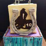 Horse Barrel Racing Cake Cakecentral Com