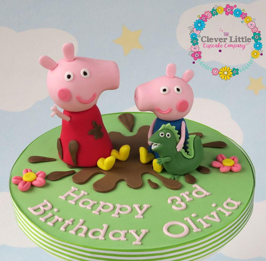 Peppa Pig Cake Topper Cakecentralcom