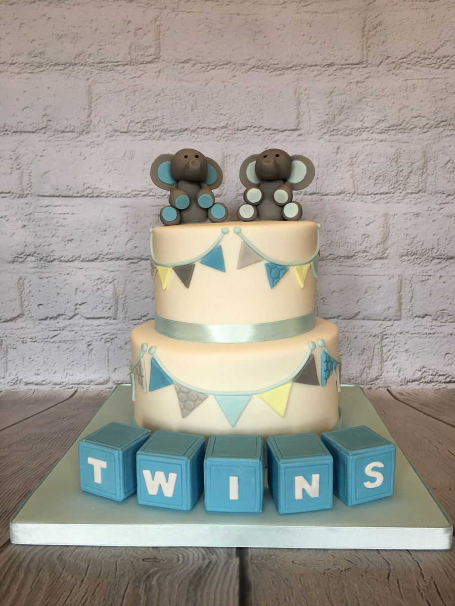 Baby Shower Cake For Twins : shower, twins, Shower, Cakes, Twins, Viewer