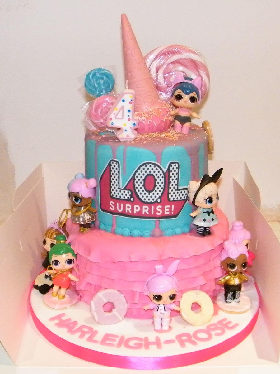 Lol Surprise Birthday Cake Cakecentralcom