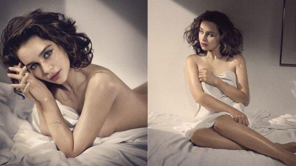 Emilia Clarke fue elegida la mujer más hermosa de 2015 por Esquire