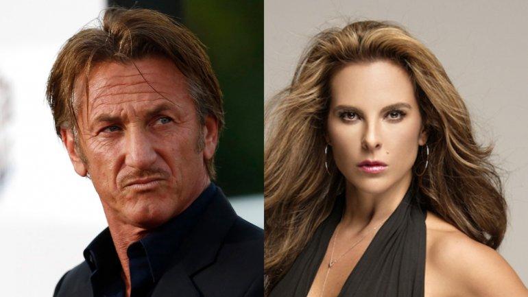 Sean Penn y Kate del Castillo se reunieron con