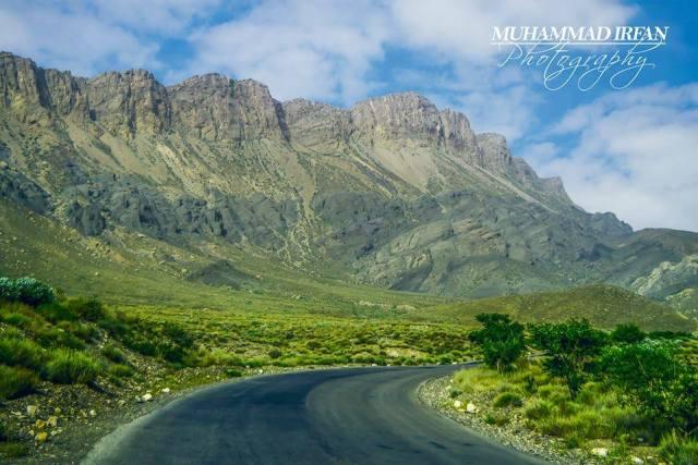 The Road toward Ziarat, Balochistan