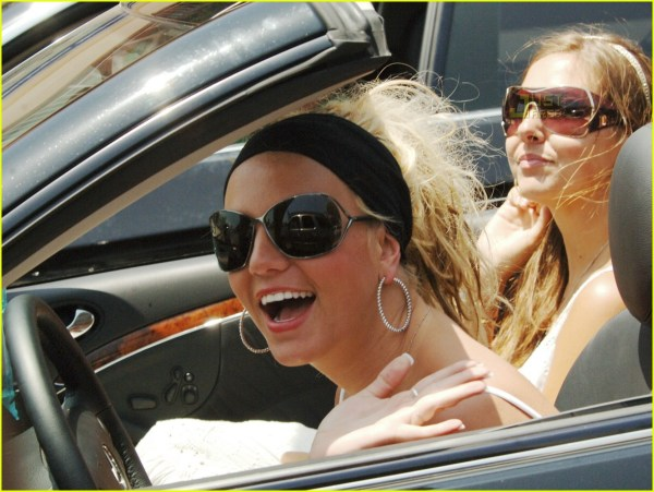 Britney Spears with Sunglasses